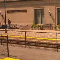 Photo taken at Amtrak/Metra Joliet Union Station (JOL) by Amanda M. on 5/16/2012