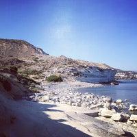 Photo taken at Pissouri Beach by Anton M. on 5/5/2012