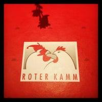 Das Foto wurde bei Restaurant Roter Kamm von Marie M. am 4/3/2012 aufgenommen