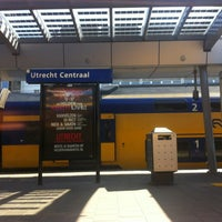 Photo taken at Utrecht Central Station by alexander @. on 7/23/2012