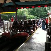 Photo taken at Apollo's Chariot - Busch Gardens by Hunter W. on 5/18/2012