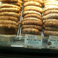 Photo taken at Kroeger & Sons Choice Meats by Kathy B. on 3/25/2012