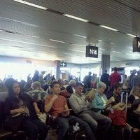 Photo taken at Gate N16 by Priscilla V. on 8/20/2012