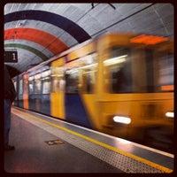Photo taken at Haymarket Metro Station by Luke G. on 5/13/2012