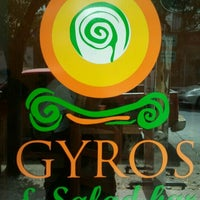 Photo taken at Gyros by Angeles B. on 2/13/2012