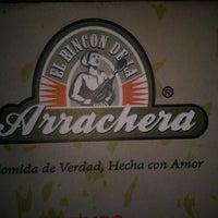 Photo taken at El Rincon de La Arrachera - Las Américas by Tania T. on 4/22/2012