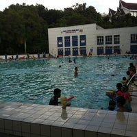 Photo taken at Pusat Akuatik Darul Ehsan (Aquatic Centre) by Ahmad Hafiz W. on 2/20/2011