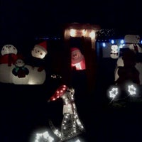 Photo taken at Chino's Famed Christmas Lane by Danielle F. on 12/20/2011