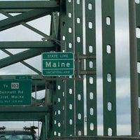 Photo taken at Maine State Line by Celeste Z. on 9/24/2011