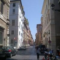 Photo taken at Via Giulia by Edoardo C. on 7/11/2012