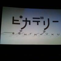 Photo taken at Shinjuku Piccadilly by kousuke K. on 8/1/2012