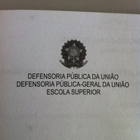 Photo taken at Defensoria Pública da União - AM by Natercia M. on 9/9/2011