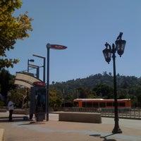 Photo taken at Universal City Metro Station by Sandra V. on 8/27/2011