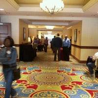 Photo taken at Newport News Marriott at City Center by Winford L. on 10/2/2011