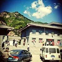 Photo taken at Wǔtái shān by Wangyi H. on 8/19/2012