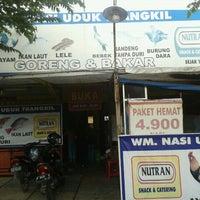 Photo taken at Nutran, Nasi Uduk Trangkil by Wijaya T. on 1/17/2012