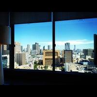 Photo taken at 三井ガーデンホテル銀座プレミア フロント by ki19680219 on 8/21/2012
