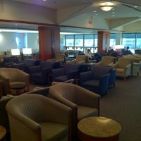 Photo taken at Delta Sky Club by Anthony R. on 1/28/2012