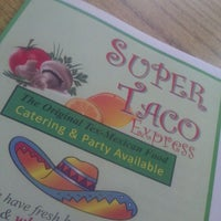 Photo taken at Super Taco Express by Ms. V on 4/9/2012