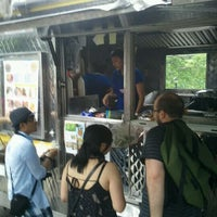 Photo taken at Red Hook Ballfield Food Vendors by Oscar G. on 6/2/2012