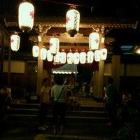 Photo taken at 本住寺 by 3+4=7 on 9/2/2011