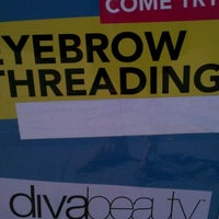 Photo taken at Diva Beauty - A Threading Boutique by S W. on 11/19/2011