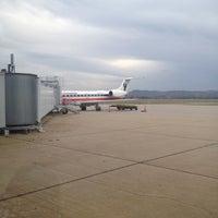 Photo taken at La Crosse Regional Airport (LSE) by Jake G. on 10/23/2011