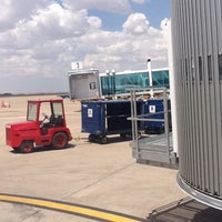 Photo taken at Rick Husband Amarillo International Airport (AMA) by Zulma C. on 8/5/2011