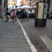 Photo taken at Piazza Giacomo Matteotti by ik0mmi a. on 7/11/2012