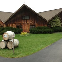 Photo taken at Wagner Vineyards by Brian S. on 10/23/2011