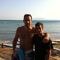 Photo taken at Paul - Surf Club by Christos P. on 9/25/2011