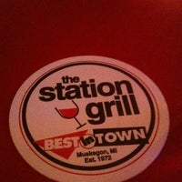 Photo taken at The Station Grill by Ginkgo W. on 2/4/2011