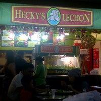 Photo taken at Hecky's Lechon by Kristinjoi C. on 12/24/2011