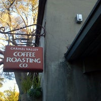 Photo taken at Carmel Valley Coffee Roasting Company by Jonathan L. on 1/8/2012