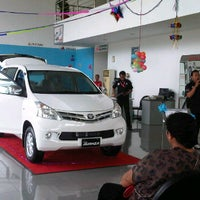 Photo taken at Toyota Serang by Dav C. on 11/13/2011