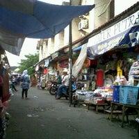 Photo taken at Pasar Pagi Bintara by Budy K. on 3/26/2012