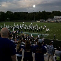 Photo taken at Muscatine High School by Erin K. on 9/10/2011