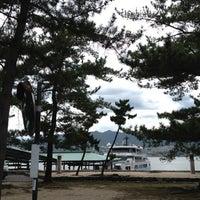 Photo taken at Miyajima Pier by hataratti on 8/1/2012