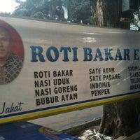 Photo taken at Roti Bakar Eddy by mrbambang d. on 1/8/2011