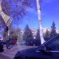 Photo taken at Puente de Ventas by GIOVANNY RIJO on 3/25/2012