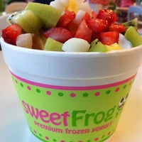 Photo taken at Sweet Frog by Preston V. on 8/14/2011