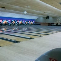 Photo taken at Woodmere Lanes by Claudia D. on 9/21/2011