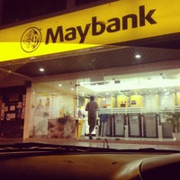 Photo taken at Maybank by ashleyzne on 6/21/2012