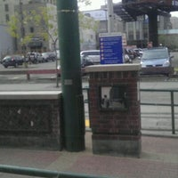 """Photo taken at Warehouse District/Hennepin Ave LRT Station by Miguel """" M@g!C"""" L. on 11/2/2011"""
