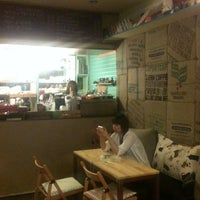 Photo taken at David Sandwiches by Ji Youn K. on 6/3/2011