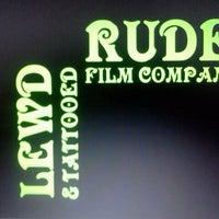 Photo taken at Lewd, Rude & Tattooed Film Company by Ian J. on 2/26/2012