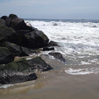 Photo taken at Asbury Park Beach by Charles P. on 7/12/2012