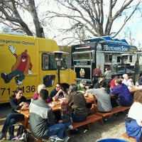 Photo taken at Fort Worth Food Park by Jeff L. on 12/30/2011