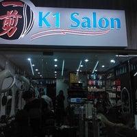 Photo taken at K1 Salon by Samp t. on 12/21/2011