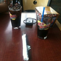 Photo taken at Red Robin Gourmet Burgers by Christoph K. on 9/5/2011